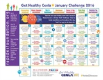 Ring in the new year with our challenge calendar!