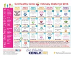 February Challenge Calendar is here!