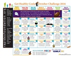 Download the October Challenge Calendar!