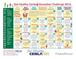 Close out the year with our December Challenge Calendar
