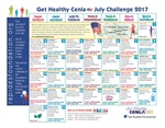 July Calendar Features Fitness and Nutrition Challenges