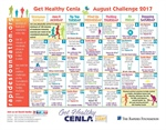 August Calendar Helps Increase Physical Activity