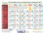 Take the Challenge with the September Calendar!