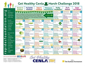 March Challenge Calendar Ready for Download