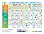 June Challenge Calendar Focuses on Nutrient-Dense Foods