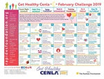 February Challenge Calendar Gives Heart Healthy Tips