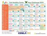 Try the Fitness and Nutrition Challenges on the May Calendar