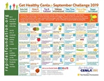 Use the September Calendar to Pursue a Lifetime of Good Health!