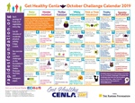 October Challenge Calendar Encourages Eating Healthy as a Family