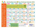 May Calendar Provides Daily Nutrition, Fitness Tips