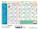 June Calendar Provides Daily Nutrition, Fitness Tips