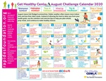 August Calendar Provides Daily Nutrition, Fitness Tips