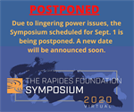 The Rapides Foundation Symposium is Postponed