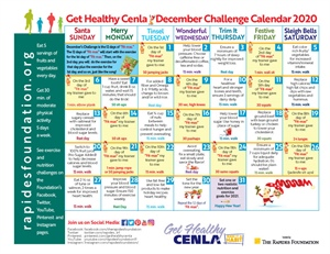 "Get Ready For The 12 Days of ""Fit-mas"" Challenge!"