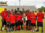 Cenla students score big at Saints Camp
