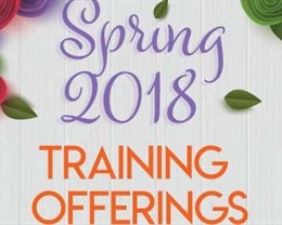 CDW Spring 2018 Trainings Begin March 1