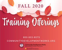 CDW Fall 2020 Trainings begin