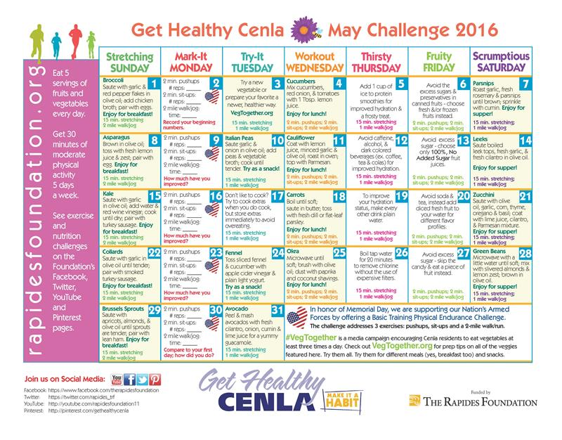 take the fitness  u0026 nutrition challenge in may